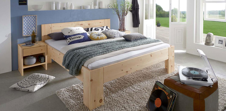 Zirbenholz Bett Fiori