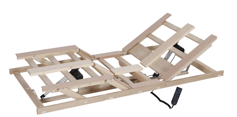 Motorrahmen-Unterbau für Lamellensystem Naturform