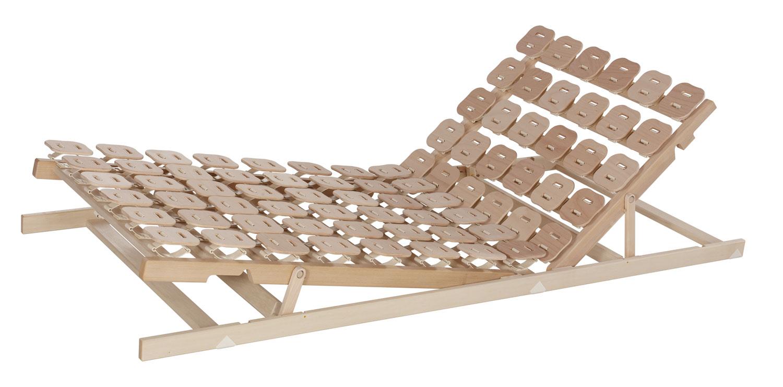 Tellerlattenrost Relax3000 mit Sitz- und Fußhochstellung