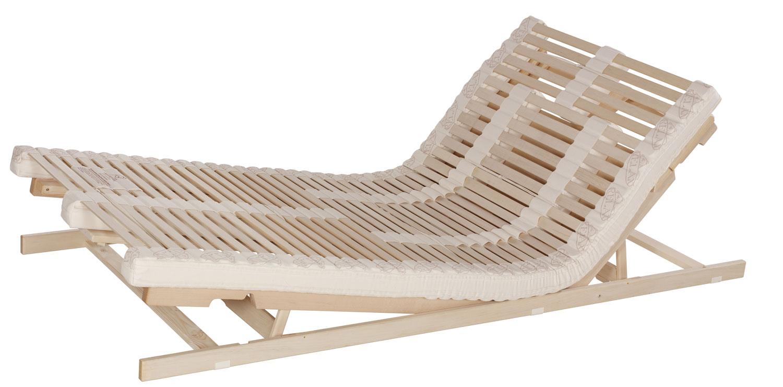 Bettsystem Naturflex mit Sitz- und Fußhochstellung