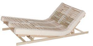 Bettsystem Naturform mit Sitz- und Fußhochstellung