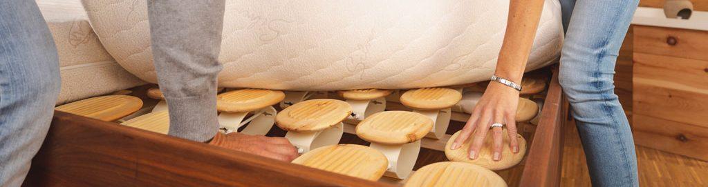 Einstellen der Federkörper vom Relax Tellersystem