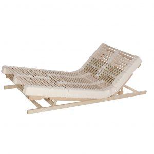 Relax Naturform Lamellensystem mit metallfreier Sitz- und Fußhochstellung
